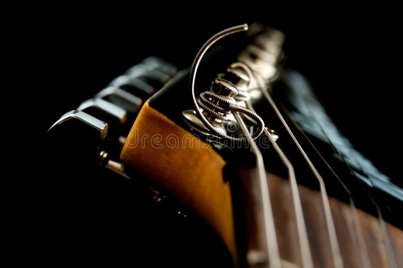 Cabeça da guitarra imagens de stock