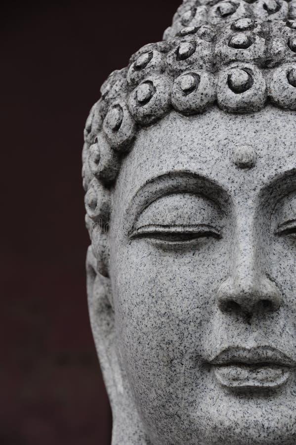 Cabeça de Buddha fotografia de stock royalty free