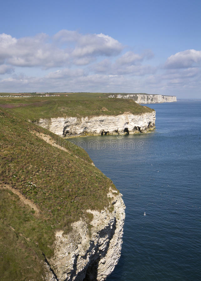 Cabeça de Flamborough foto de stock