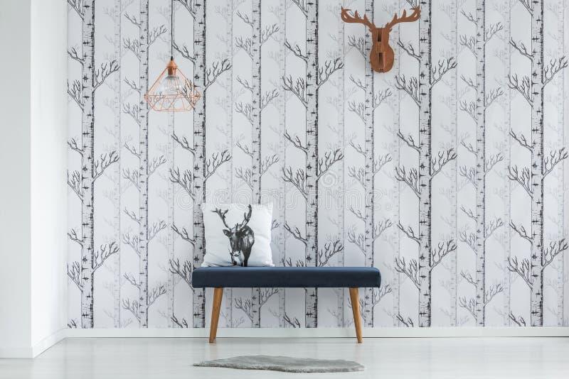 Cabeça de papel dos cervos imagem de stock royalty free