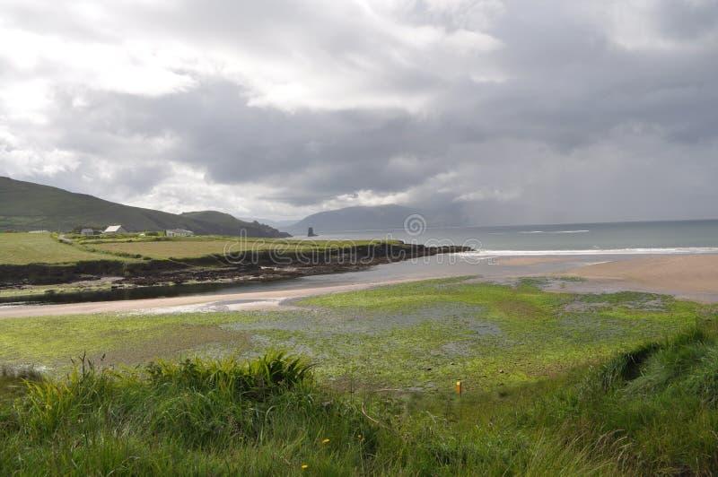 Cabeça de Slea no Dingle, Kerry do condado, Irlanda foto de stock