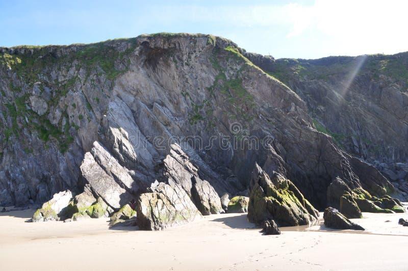 Cabeça de Slea no Dingle, Kerry do condado, Irlanda imagens de stock