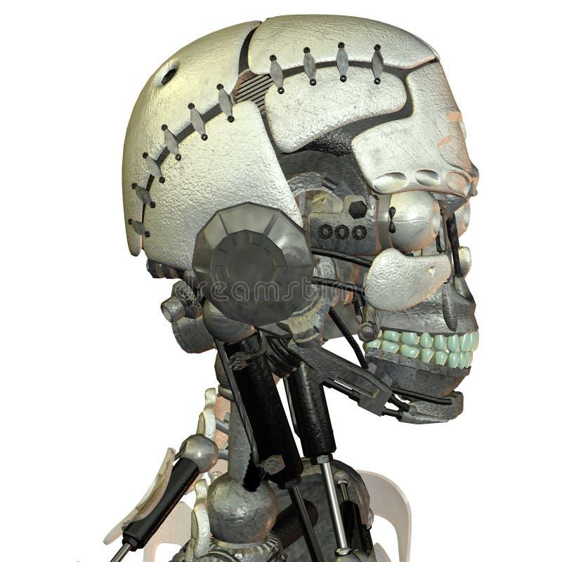 Cabeça de um android ilustração do vetor