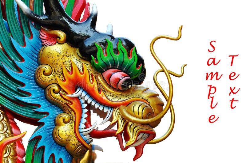 Cabeça do dragão imagens de stock royalty free