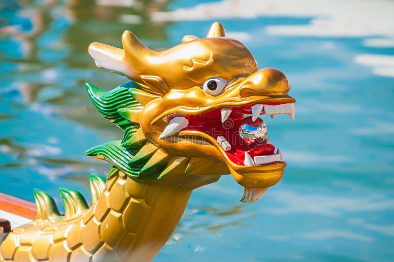 Cabeça do dragão fotos de stock royalty free