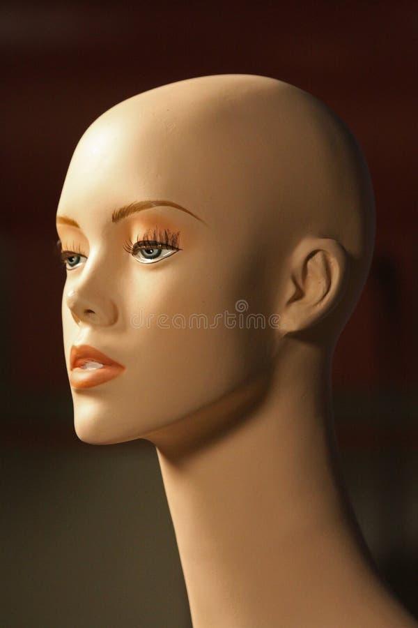 Cabeça do Mannequin foto de stock royalty free