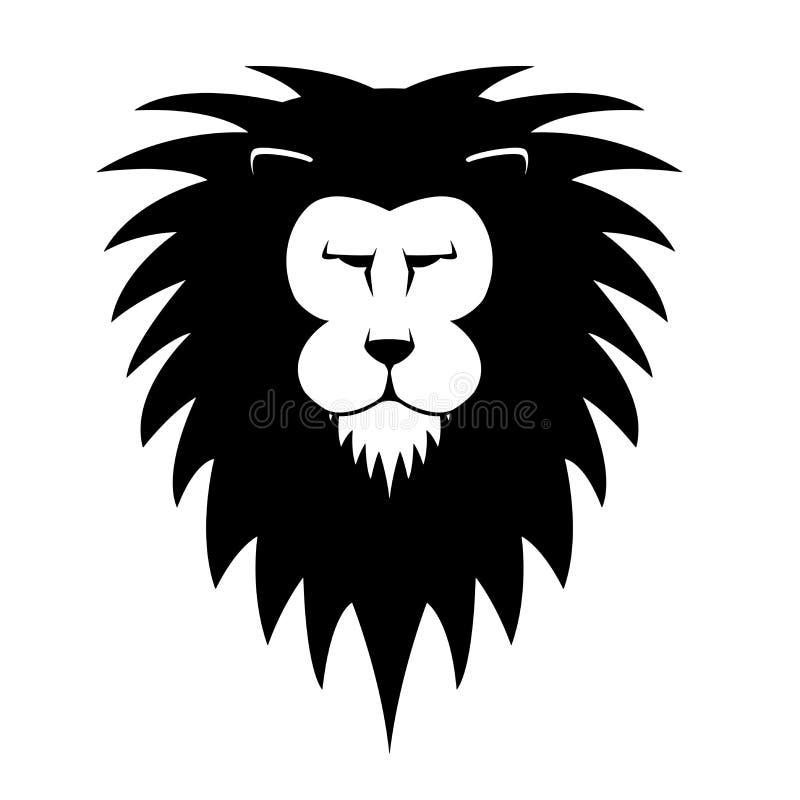 Cabeça dos leões ilustração stock