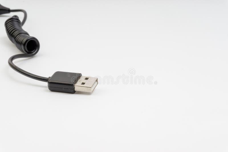Cabeça universal do recharger isolada no fundo branco imagem de stock royalty free
