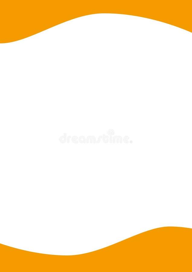 Cabeçalho ilustração stock