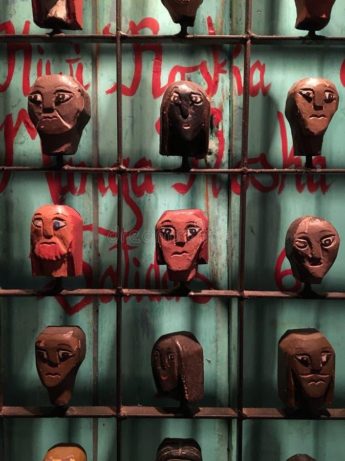 cabeças imagens de stock