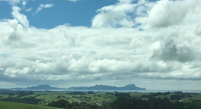Cabeças de Whangarei fotografia de stock royalty free