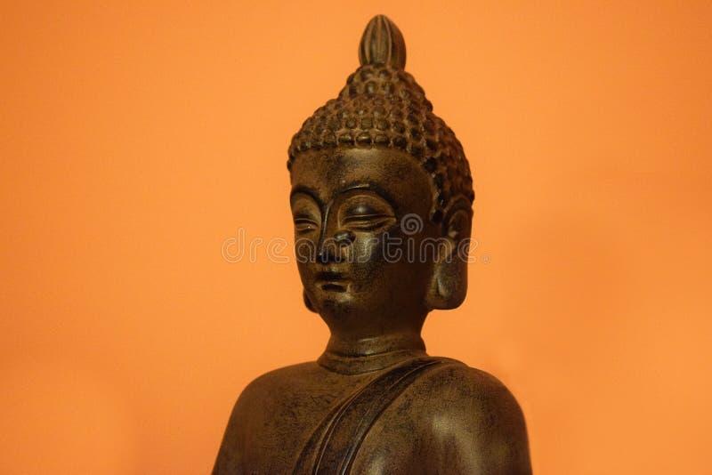 Cabe?a de Buddha fotos de stock royalty free