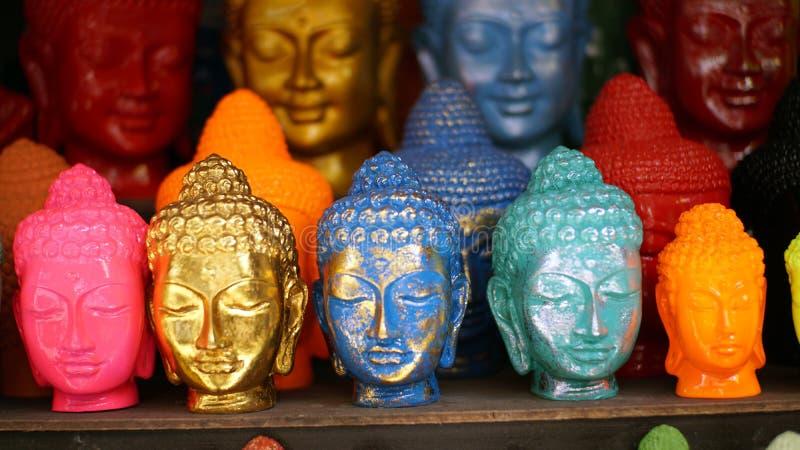 Cabe?a do buddha fotografia de stock royalty free