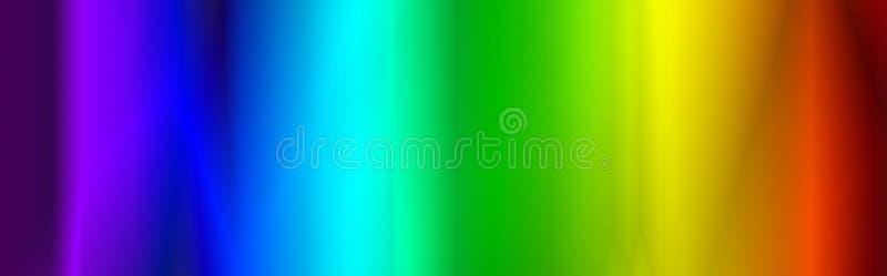 Cabecera/bandera del Web del arco iris libre illustration