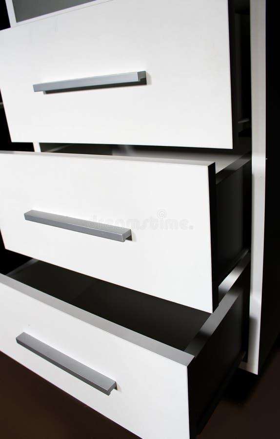 Cabecera Blanca Fabricación De Los Muebles Foto de archivo - Imagen ...