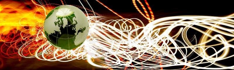 Cabecera de la conectividad foto de archivo
