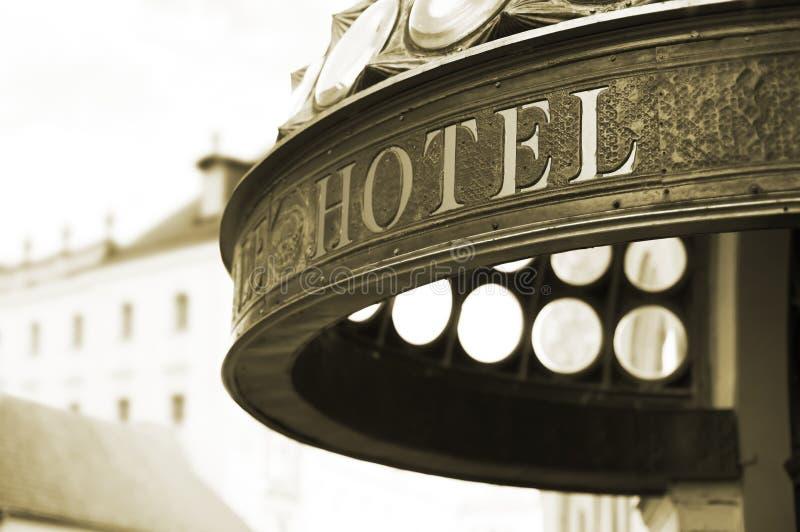 Cabecera del hotel fotos de archivo libres de regalías