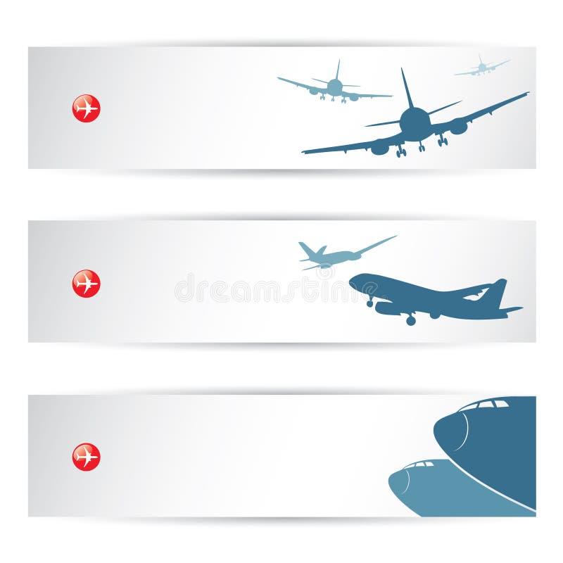 Cabeceras del tráfico aéreo libre illustration