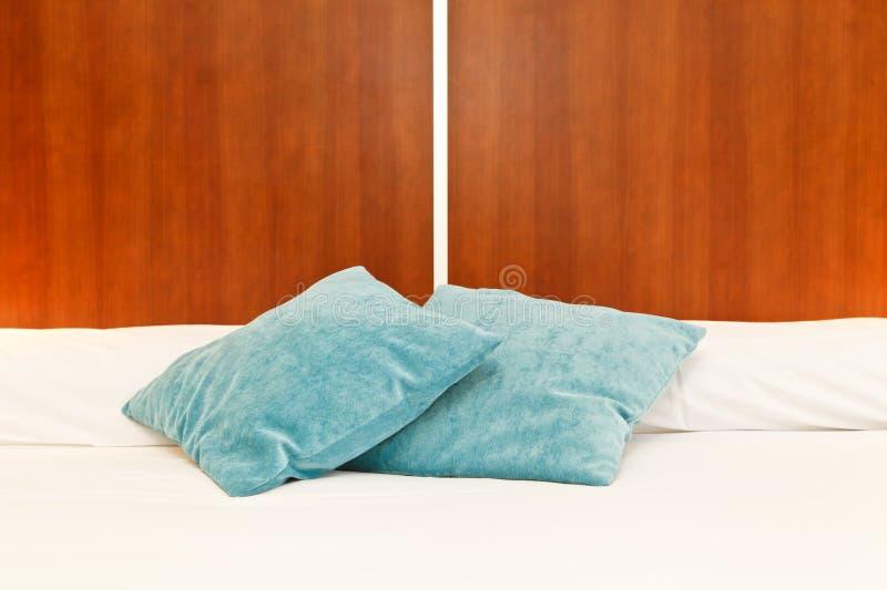 Cabecero de la cama fotos de archivo