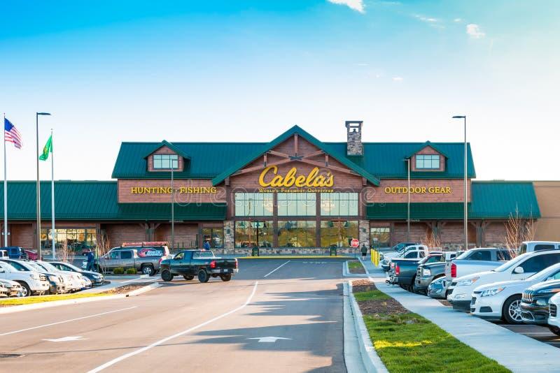 Cabela's apre il suo deposito di Lexington il 16 marzo 2016 fotografie stock