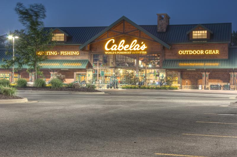 Cabelas in Grandville Michigan royalty free stock images