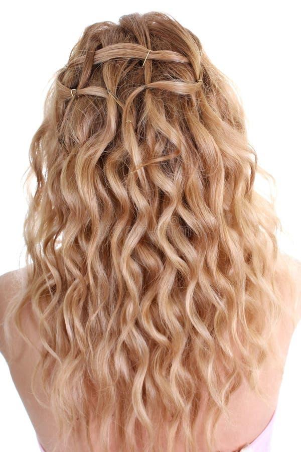 Cabelo Curly fotografia de stock royalty free