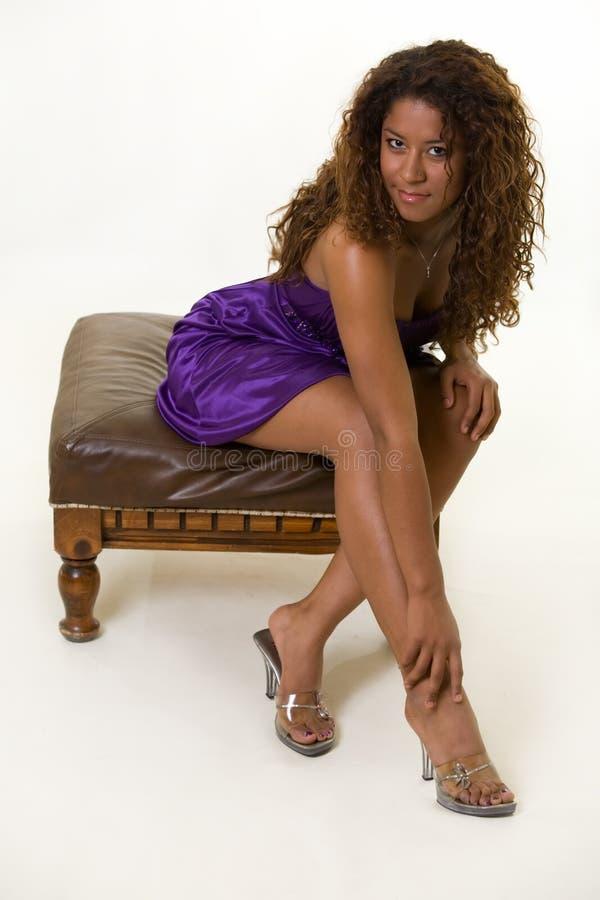 Cabelo Curly imagens de stock royalty free