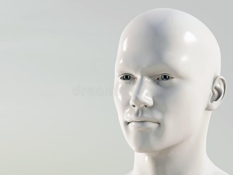 Hombre plástico ilustración del vector