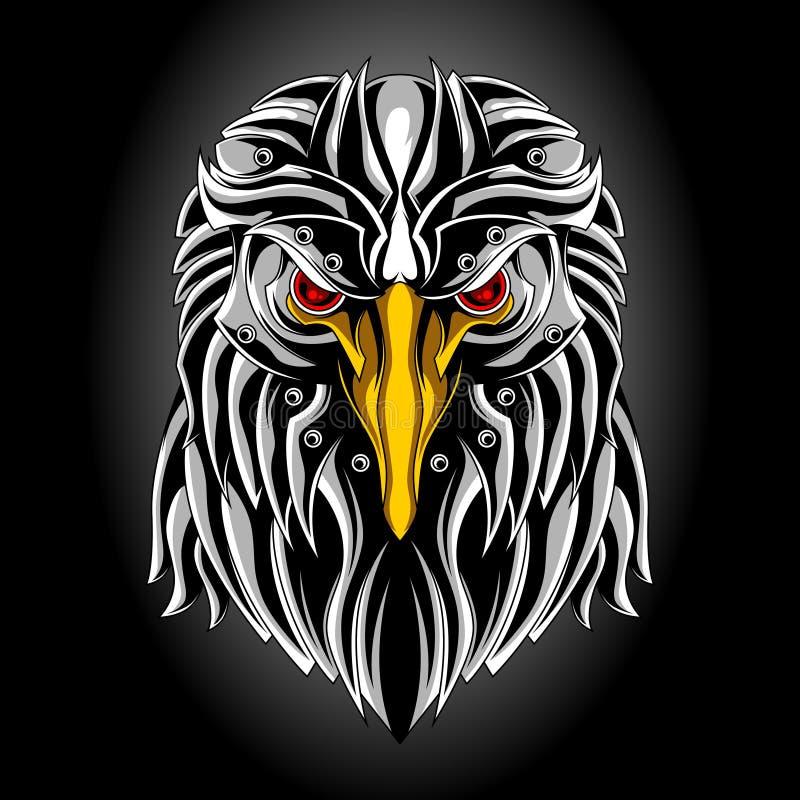 Cabeza del águila del hierro libre illustration