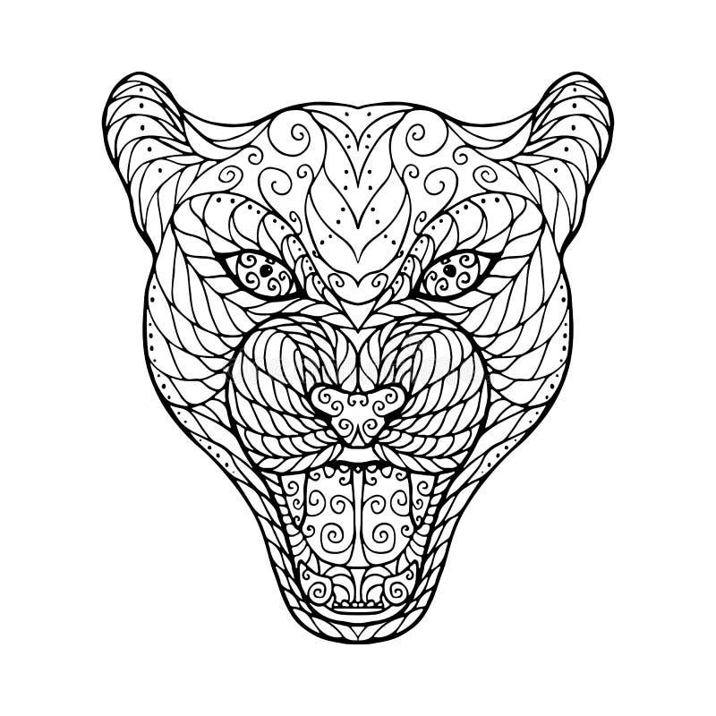 Dorable Página Para Colorear De Jaguar Negro Imágenes - Páginas Para ...