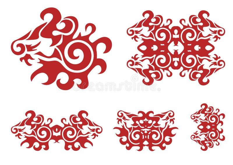 Download Cabeza Del León Y Elementos Rojos Adornados Girados Del León Imagen de archivo - Imagen de cazador, mamífero: 41905837