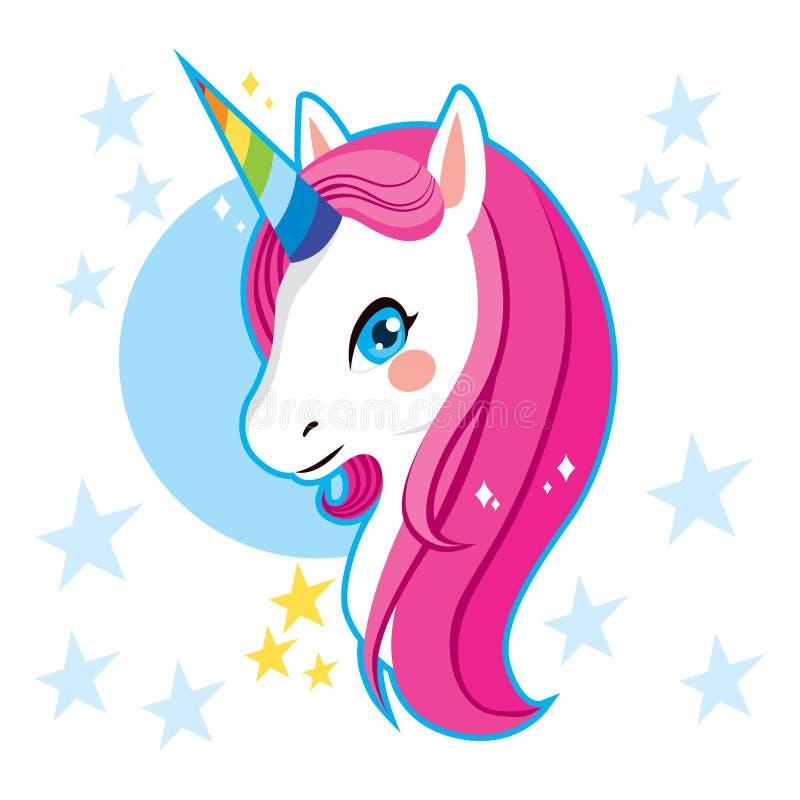 Cabeza del unicornio libre illustration
