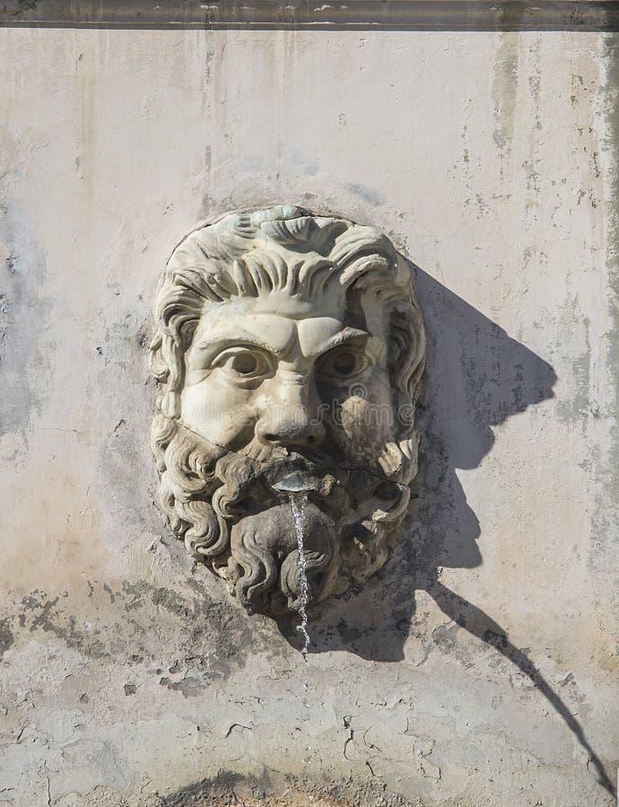 Cabeza en el Vaticano fotografía de archivo libre de regalías