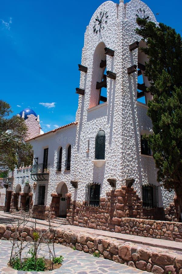 Cabildo του humahuaca, jujuy, Αργεντινή στοκ εικόνα με δικαίωμα ελεύθερης χρήσης