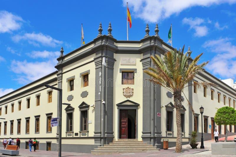 Cabildo de insular Fuerteventura fotografia de stock