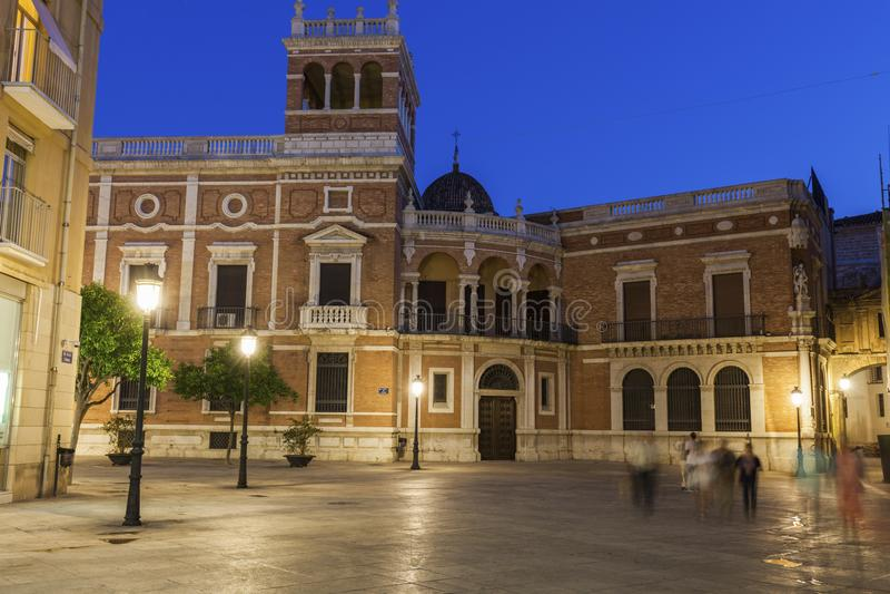Cabildo de Valencia imagenes de archivo