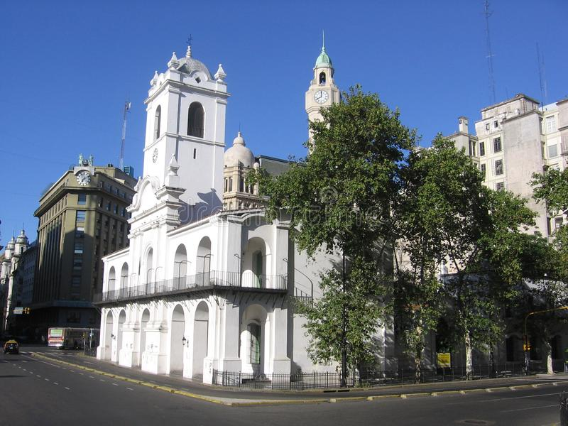 Cabildo van Buenos aires Argentinië royalty-vrije stock afbeelding