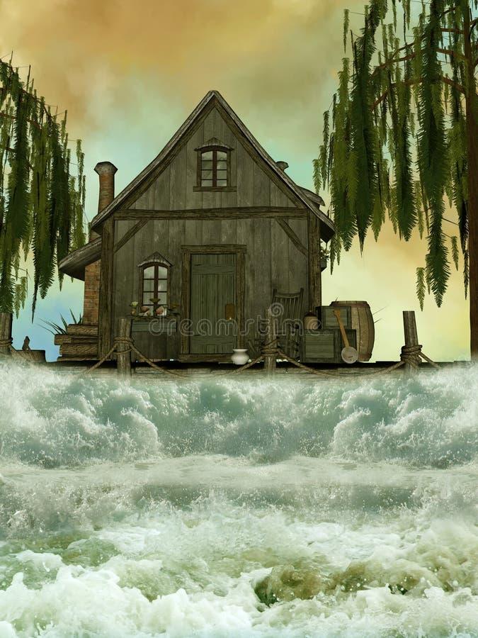Cabin vector illustration