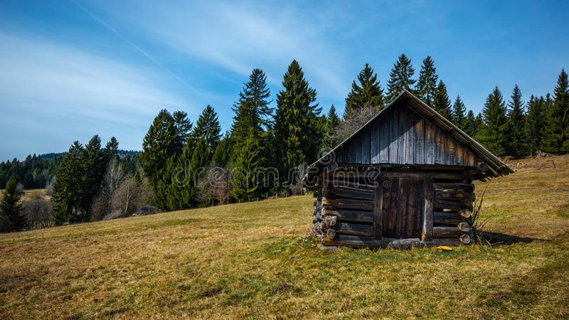 Cabin, Country, Countryside stock images