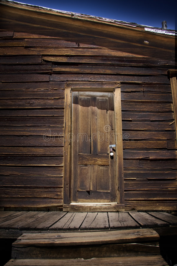 Cabin Door Royalty Free Stock Photography