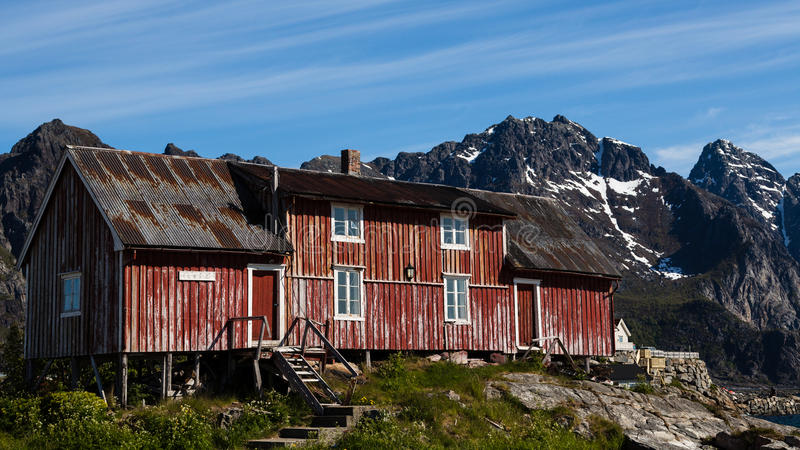 Download Cabin In The Mountains Of Norway Stock Image - Image: 26904785