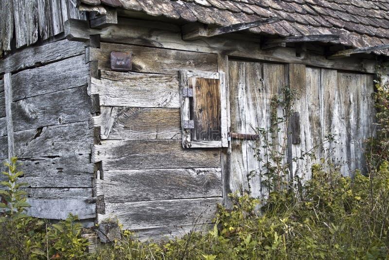 Cabin in the vineyard. A cabin in the vineyard stock photography