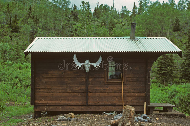 Download Cabin in the Wilderness stock image. Image of resurrection - 18373159