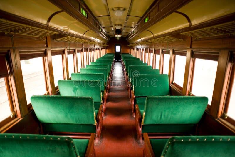 Cabina antica del treno immagine stock libera da diritti