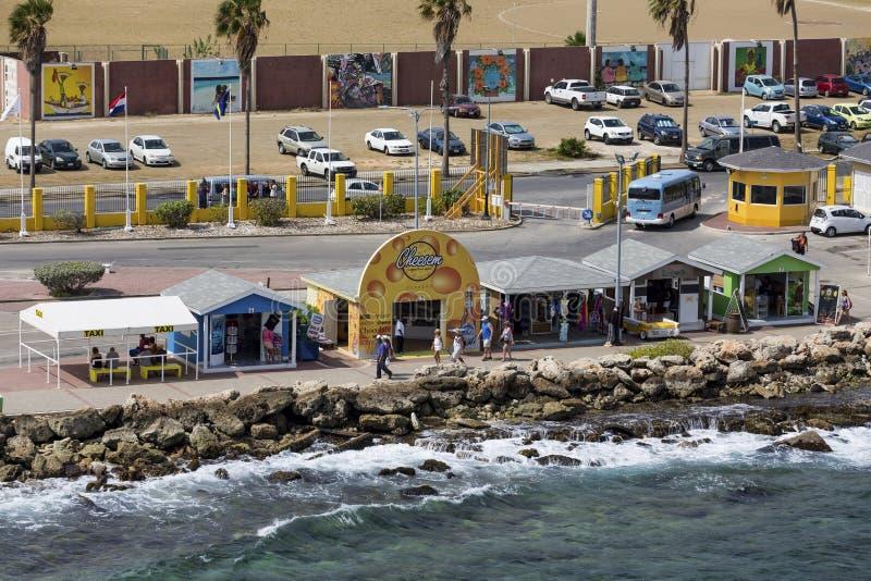 Cabina de Cheesem en Curaçao fotos de archivo libres de regalías