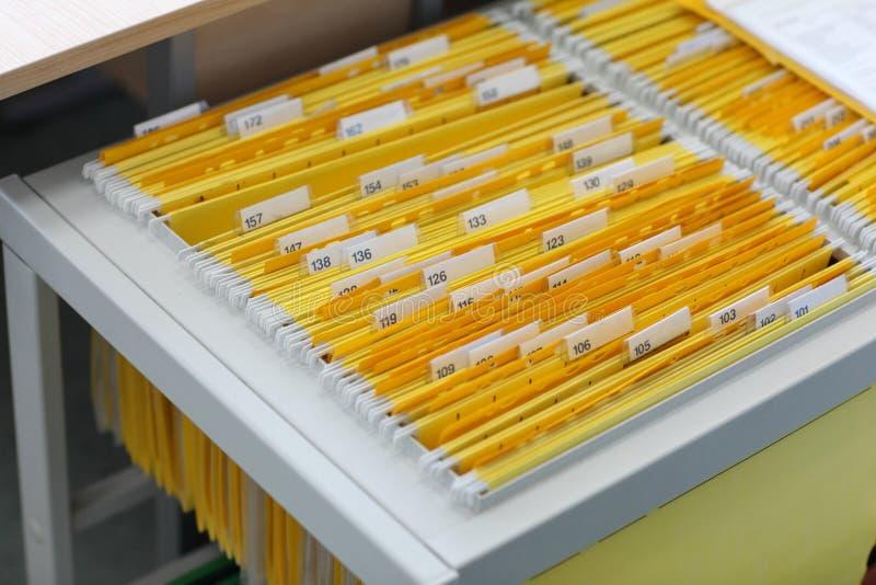 Cabina de fichero foto de archivo