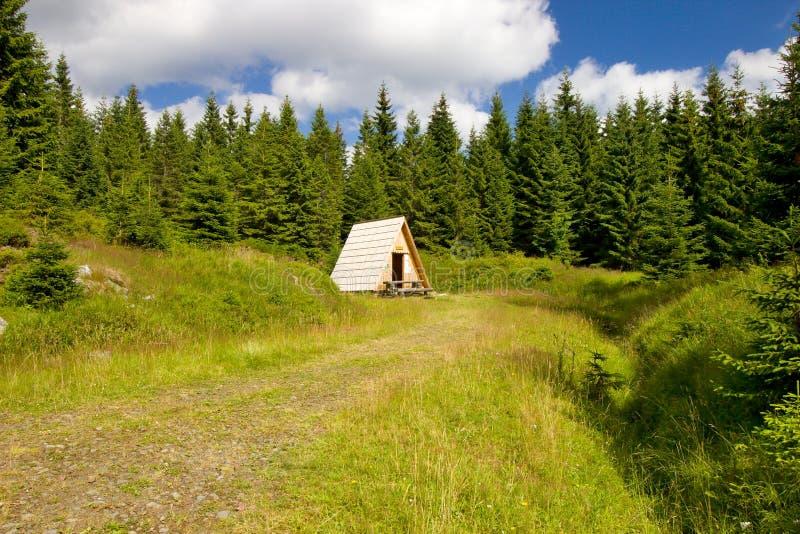 Cabina de madera fotos de archivo libres de regalías