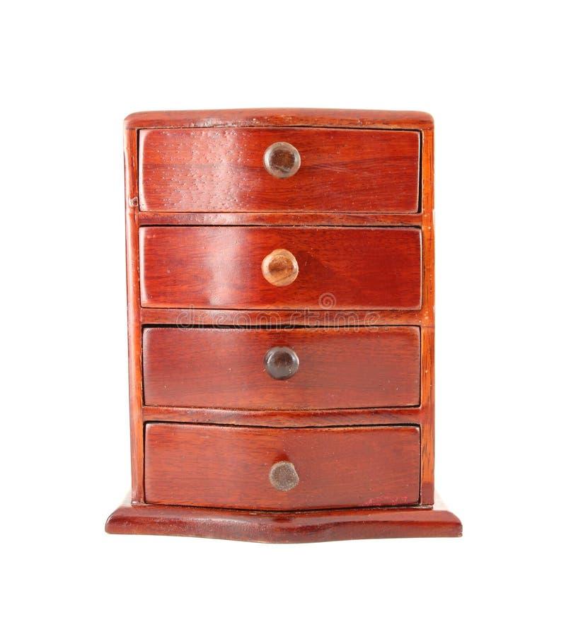 Cabina de madera en blanco imágenes de archivo libres de regalías