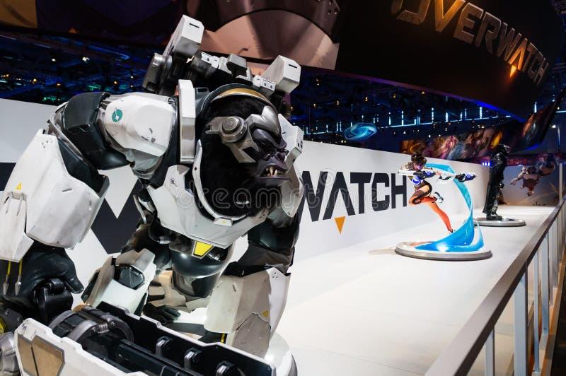 Cabina de Overwatch imágenes de archivo libres de regalías