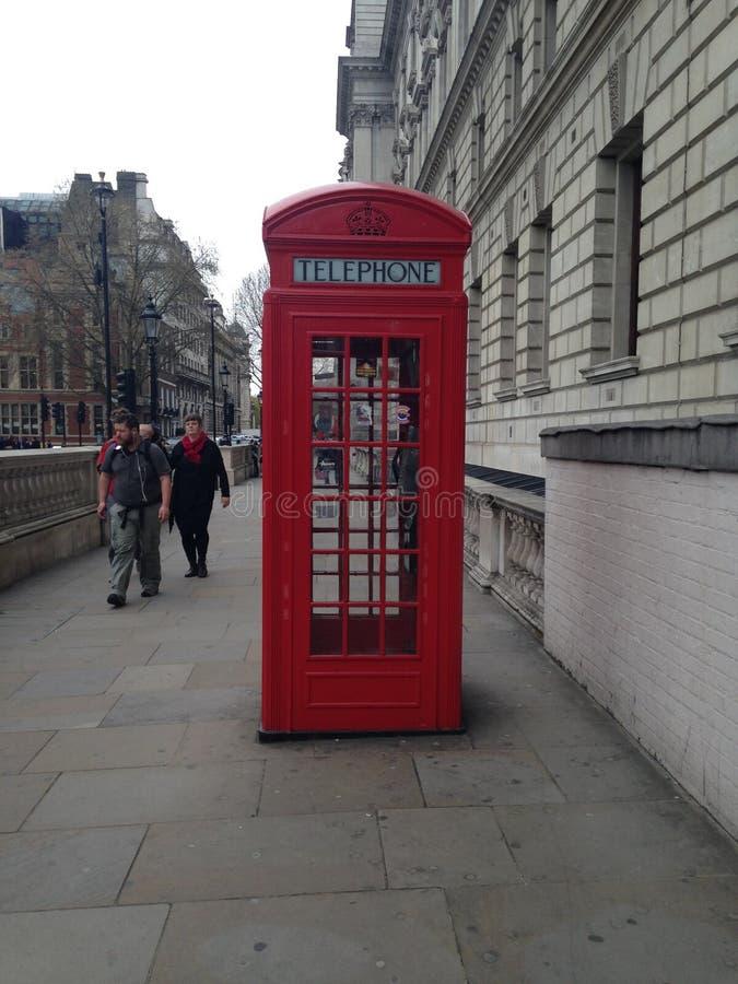 Cabina de teléfono fotografía de archivo libre de regalías